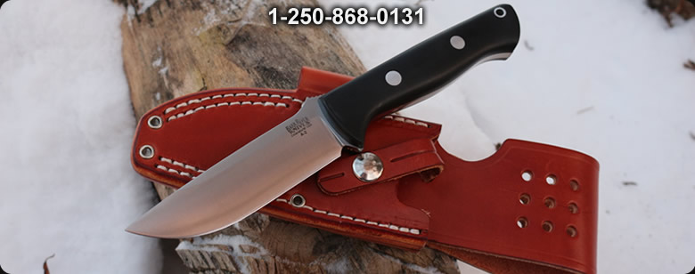 Barkriver Bravo-1 A2 Blaze Orange G10 Ramped - Bushcraft Canada