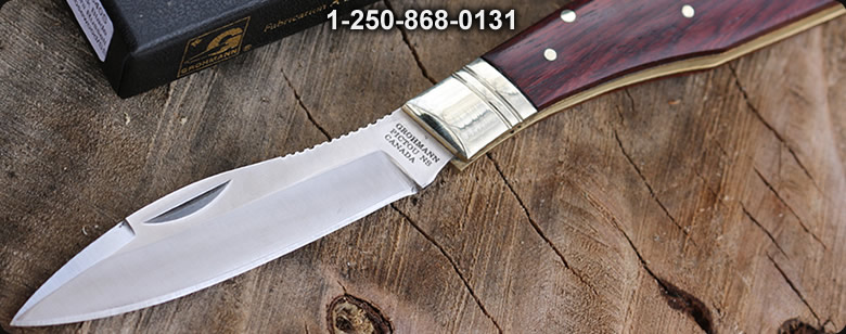 Grohmann No4 Survival Knife Carbon - Bushcraft Canada