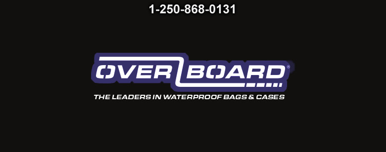 Overboard 30L Dry Tube with window Black - Bushcraft Canada