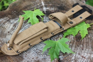 SO Brand Heavy Duty Cordura sheath 8in Brown or Black