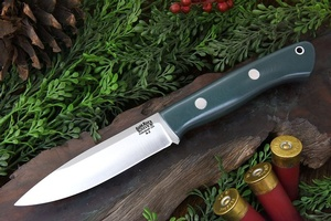 Barkriver Knives Aurora Forest Green G10