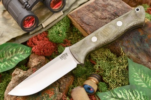 Barkriver Bravo-1 A2 Green Canvas Matte Ramped