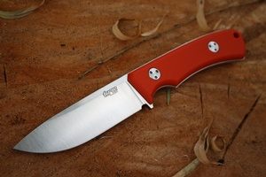 TRC Knives K1S Compact Elmax Orange G10
