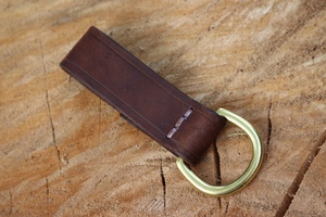 Bushcraft Leather Gear Attachement D Ring