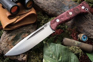 Barkriver Cub 3V Red Maple Burl