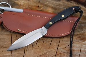 Grohmann DH Russell N01 Micarta with Sharpener
