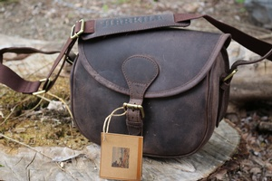 Harkila Leather Cartridge Bag