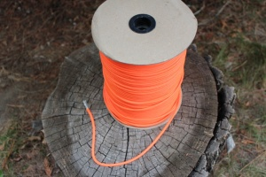 Paracord Commercial 550 Safety orange 100 ft