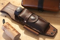 Canadian Bushcraft Leather F1 Sheath Photo