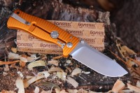 Lionsteel SR1 Aluminium Orange and Satin