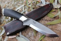 Cosmo Bushcraft stacked leather handle