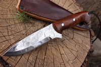 Cosmo Bushcraft Damascus 120 Layer Starburst N02
