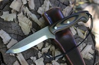 Cosmo knives Camo G10 S35VN Bushcraft knife