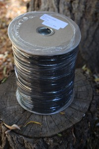 MIL SPEC Paracord BLACK 1000FT Spool Photo