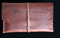 Firebox Stove Top Grain Leather case for 5in Firebox Photo