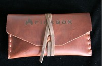 Firebox Stove Top Grain Leather case for 3in NANO Firebox Photo