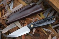 Enzo Necker Black Micarta Scandi Photo