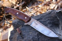 Cosmo Bushcraft Damascus Wave 120 layer No1