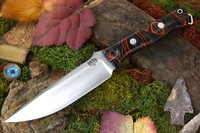 Barkriver knives Barvo-1 Vortex Ramped Lava Flow Kirinite