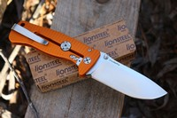 Lionsteel SR2 Orange Aluminium