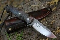 Cosmo 4in Bushcraft Blue Maple Burl