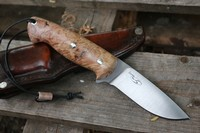 Cosmo 4in Bushcraft Light Maple Burl