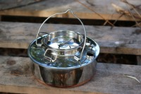 Eagle Norwegian Lone Woodsman Kettle Stainless Steel .7L Photo