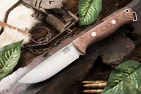 Barkriver Bravo-1 Field S35VN Natural Canvas Micarta