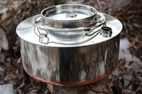 Eagle Norwegian Big Mountain Kettle Stainless Steel 4L Photo