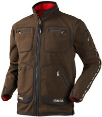 Harkila Kamko Technical Fleece Brown/Red