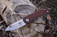 Reinhard Muller EDC Folding knife CPMS90V Desert Ironwood