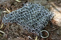 Chain Mail pan scrubber Photo