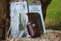 Canadian Bushcraft Leather DC4 Pouch Kit Photo