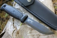 Mora Garberg CARBON Black Leather