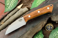 Barkriver Knives A2 TUSK Desert Ironwood with White Liners