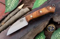 Barkriver Knives A2 TUSK Desert Ironwood with Mosaic Pins