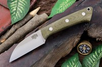 Barkriver Knives A2 TUSK Green Canvas