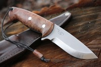Cosmo 4in Maple Burl S35VN Bushcraft No2