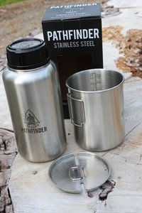 Pathfinder Stainless Bottle and Nesting Cup Set Gen3 Photo