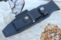Canadian Bushcraft Leather S1 Sheath Black Photo