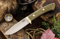 Barkriver Classic Drop Point Hunter A2 Green Canvas Photo