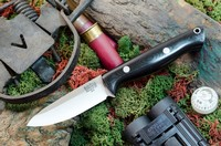 Barkriver Gunny A2 Black G10 Spear Point Rampless Photo