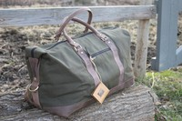 Harkila Canvas and Leather Duffel