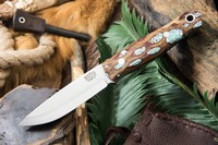 Barkriver Bushcrafter 3V Red Cholla Cactus with Turquoise #2 Photo