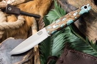 Barkriver Bushcrafter 3V Black Cholla Cactus with Turquoise #2 Photo