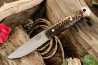 Barkriver Ultralite Bushcrafter Elmax Black and White Pincone #3 Photo