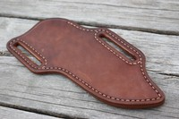 Bushcraft Leather Crossdraw Sheath Photo