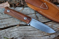 Lionsteel B40 Bushcraft Knife Santos Photo