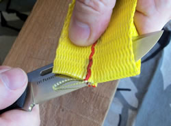 Cutting Webbing